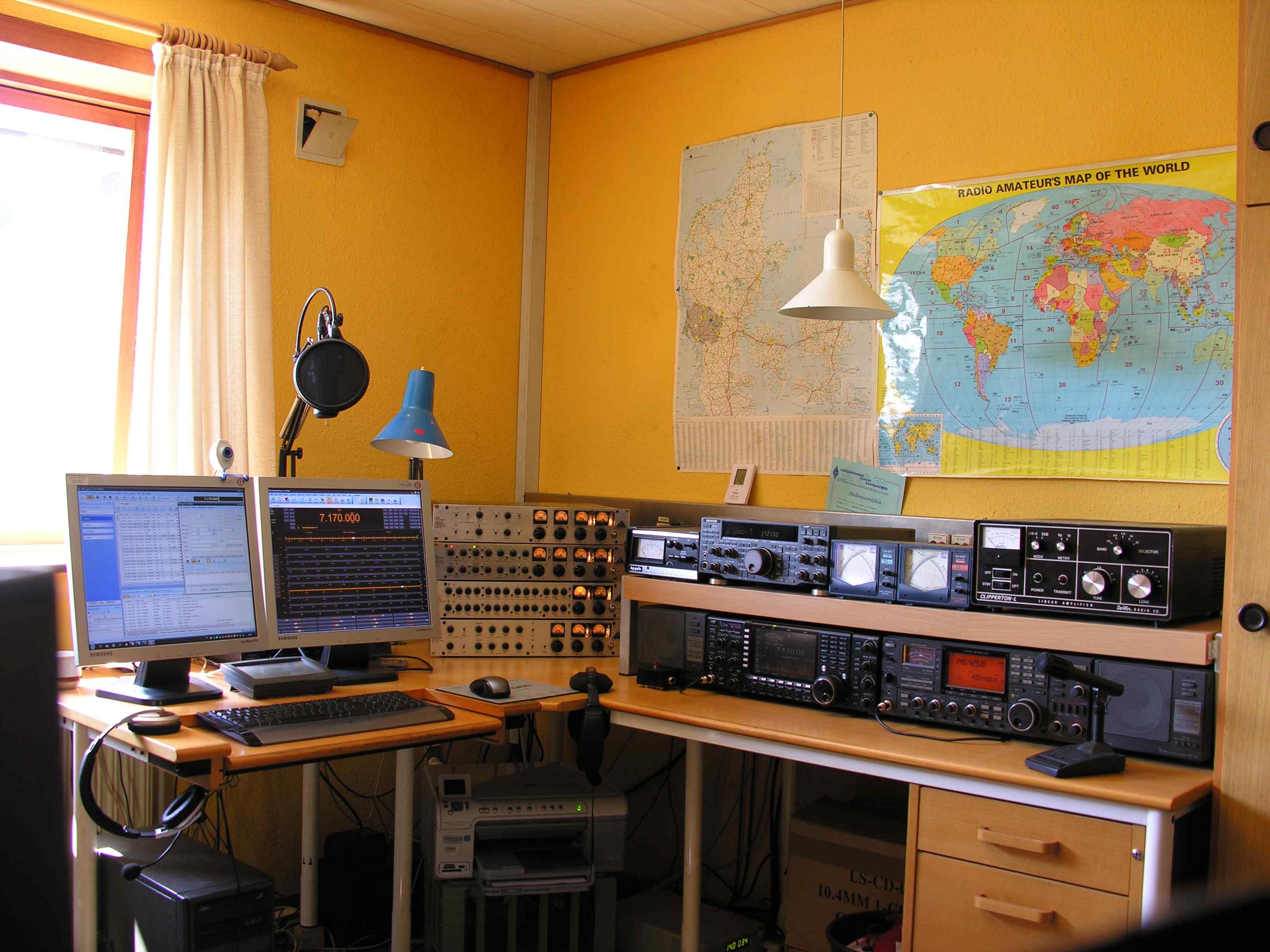 Amateur Radio Station Wb4omm: OZ2PM Hi-Fi ESSB Voodoo Audio Amateur Radio Station